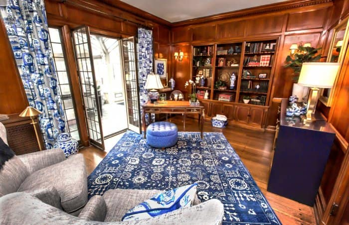 2016 Decorators' Show House library designed by Michael Arnold.