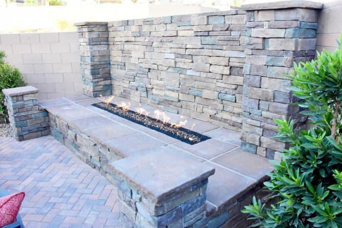 A fire pit created the perfect place to hang out. (Photo by Reuban Padilla)