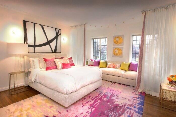2016 Decorators' Show House bedroom designed by Cornerstone Interiors.