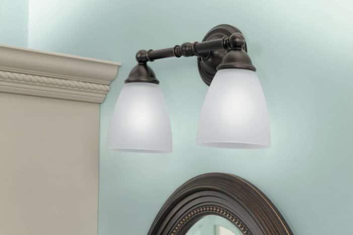Moen bathroom light fixture