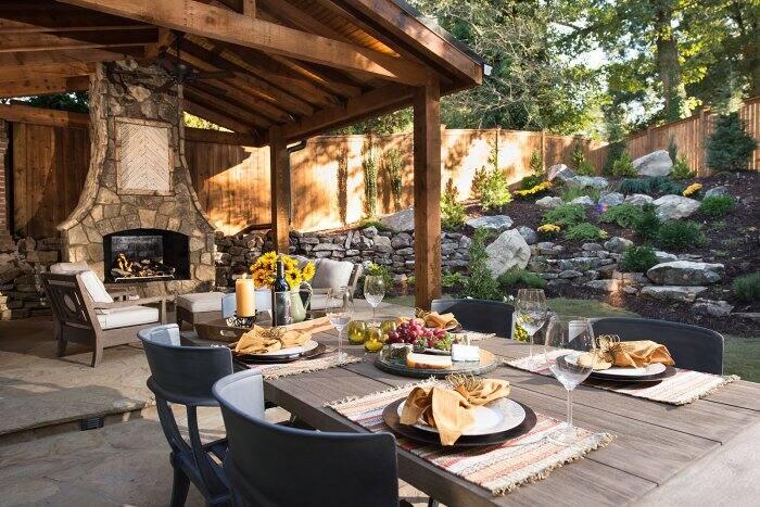 Backyard landscape makeover