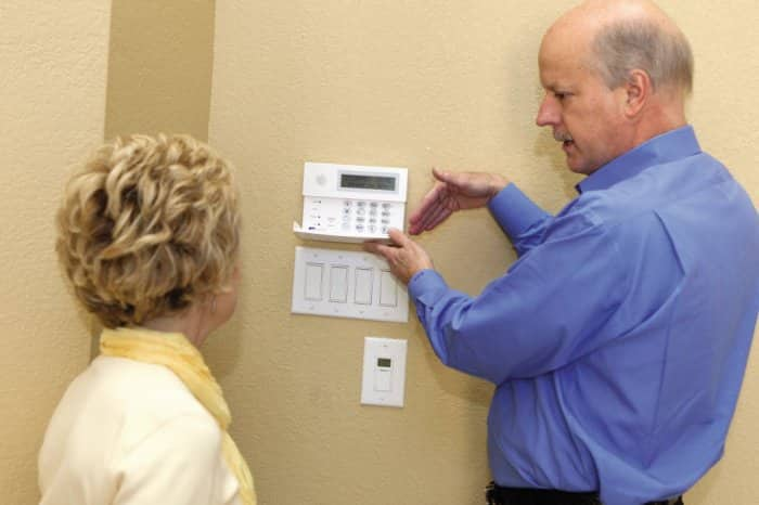 Security system installation