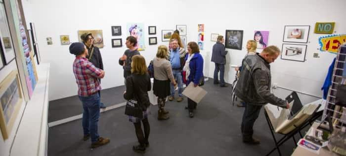 First Friday art Attic gallery Murphy Arts Center