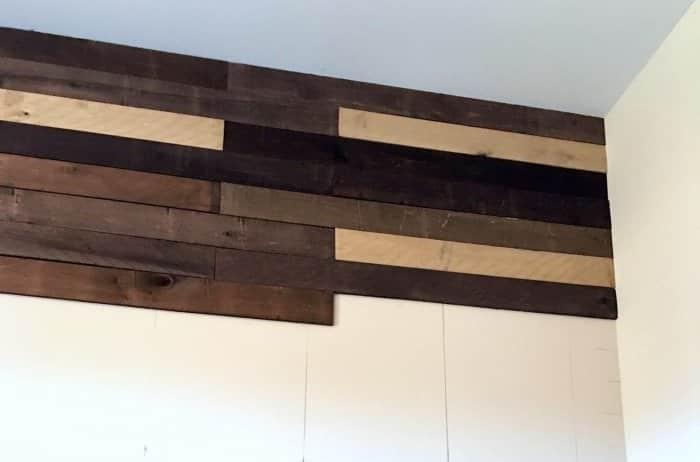 installing plank wall