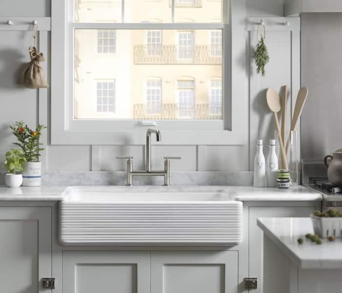 Kohler double handle faucet