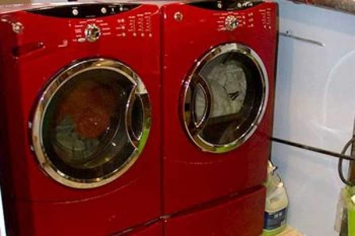 Newer washers and dryers come with added safety features, so be sure to read the manual to optimize their effectiveness. (Photo by Angie's List member Terri H.)