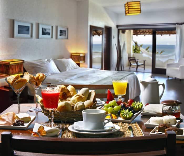 A luxury bedroom