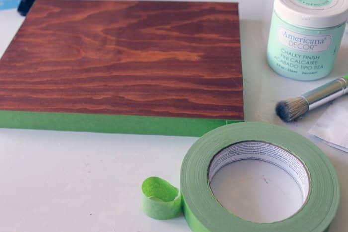 prepping wood for DIY knife block