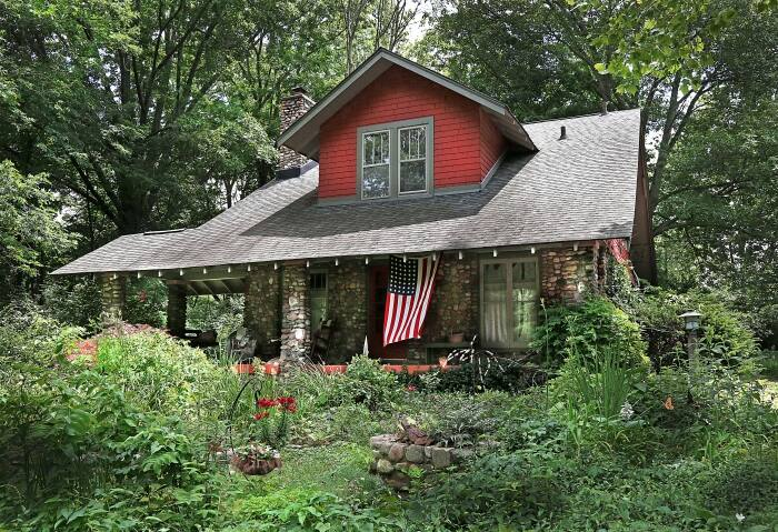 a home in Rocky Ripple Indianapolis