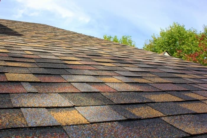shingles with multiple roof colors