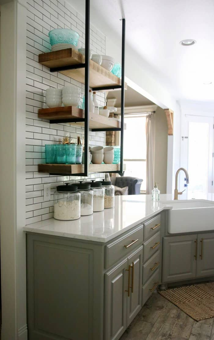 before and after kitchen remodel