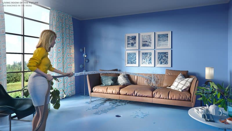 the living room of the future