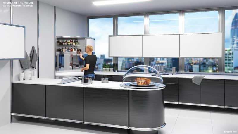 the kitchen of the future