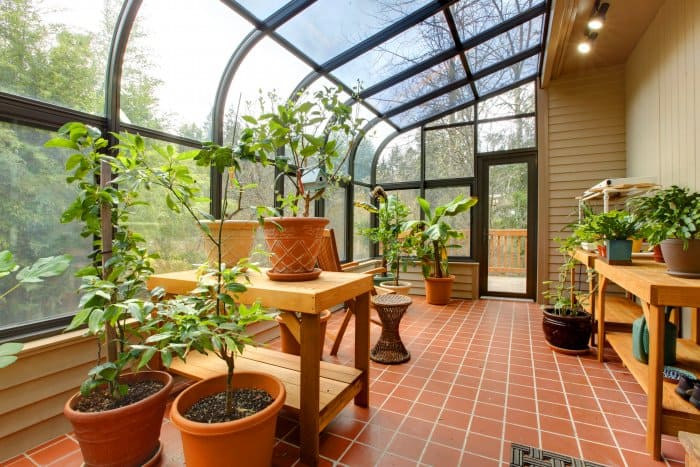 Consider adding a greenhouse instead of a patio or deck. (Photo courtesy of irina88w)