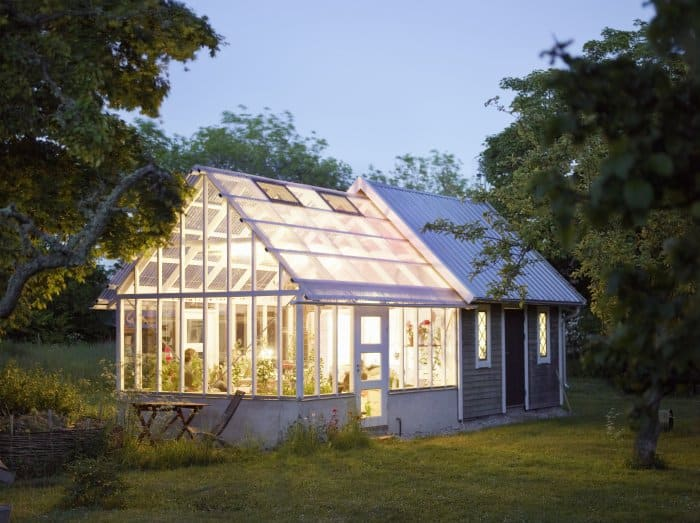 Add lighting to your greenhouse. (Photo courtesy of Getty Images/Johner RF)