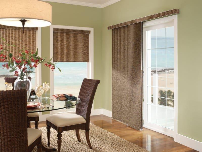 panel track window treatments
