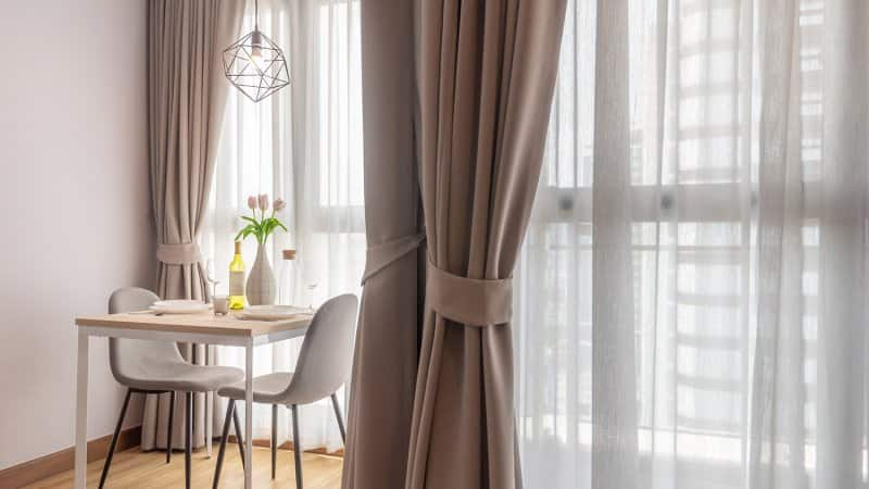 Heavy drapes at windows (Photo by By Jub Rubjob / Moment via Getty Images)