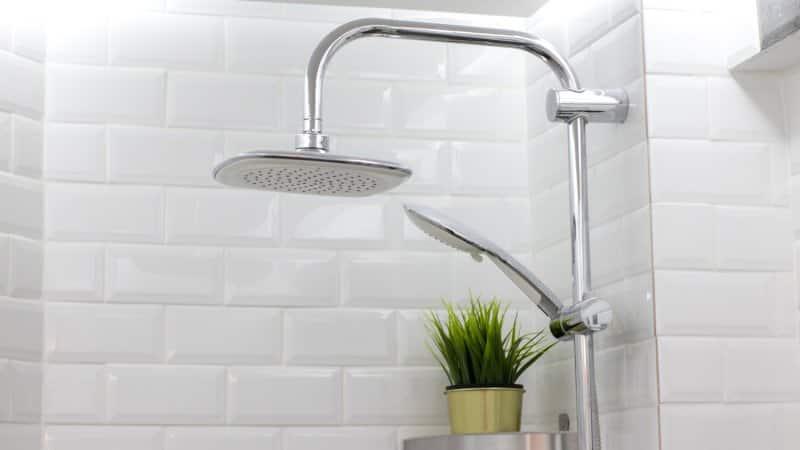 A dual shower head (Photo by Tony Ruji - stock.adobe.com)