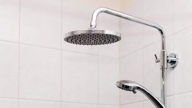 A dual shower head (Photo by ablokhin/iStock / Getty Images Plus via Getty Images)