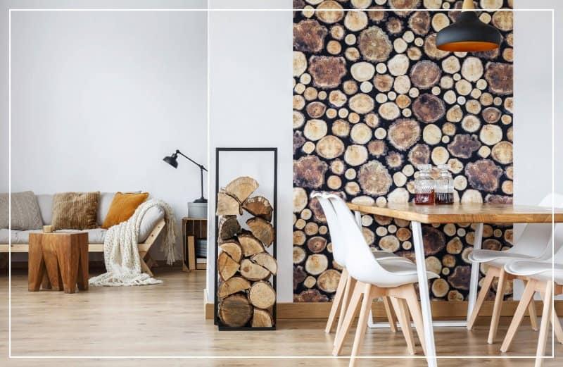 faux wood wallpaper  (Photo by Photographee.eu/Shutterstock.com)