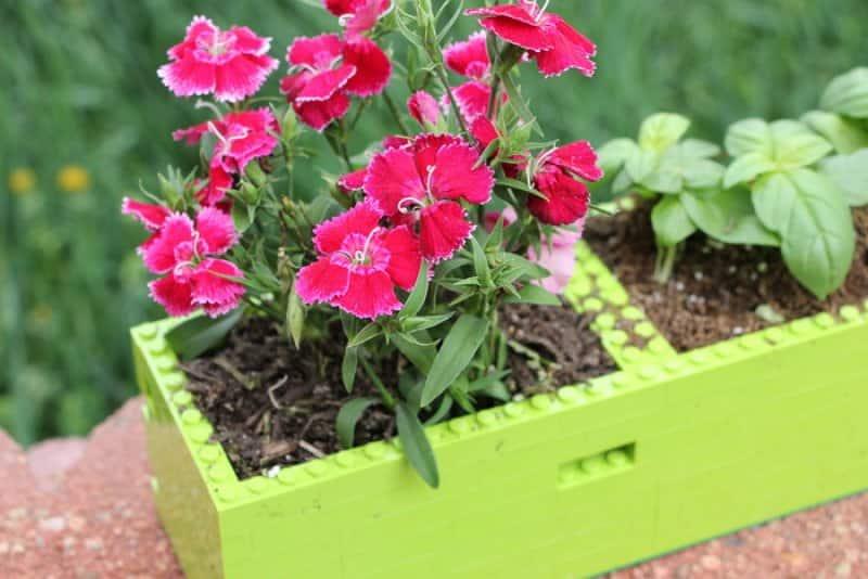 lego planter flowers