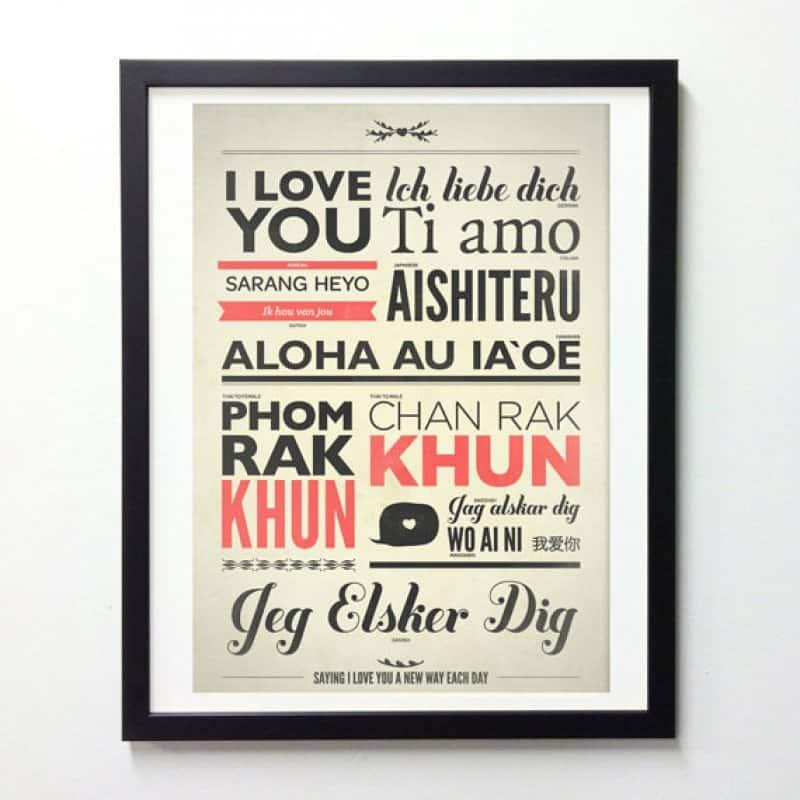 Love in languages