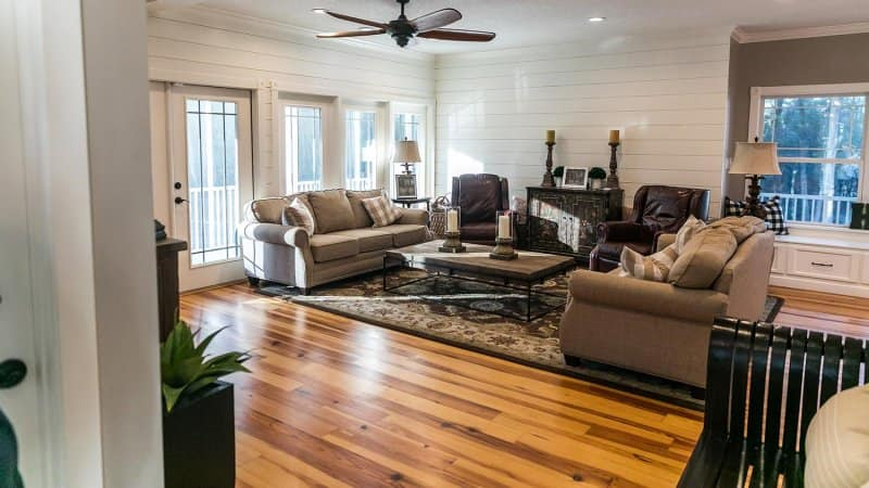 A new addition with hardwood floors (Photo by Ursula Page - stock.adobe.com)