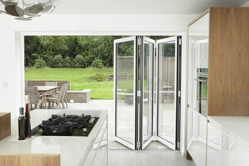 Open patio doors (Photo by Image Source / Image Source via Getty Images)