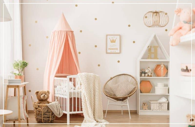 polka dot wall in kids bedroom (Photo by KatarzynaBialasiewicz / iStock via Getty Images)
