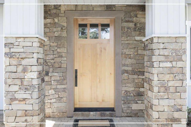 sandalwood front door  (Photo by BondRocketImages/Shutterstock.com)