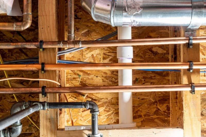 sewer lines in home