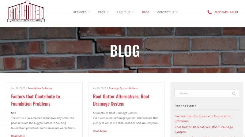 Structured Foundation Repairs' blog (Photo by https://www.structuredfoundation.com/blog/)