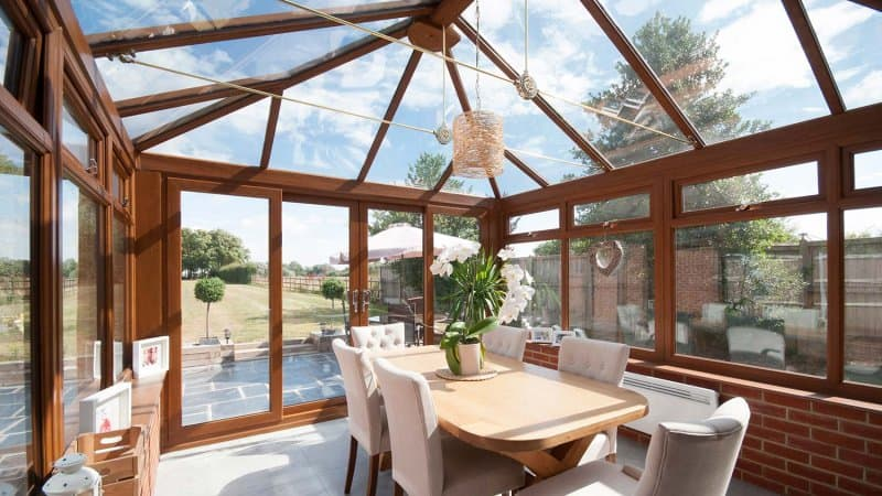 Sunroom addition (Photo by John Keeble / Moment via Getty Images)