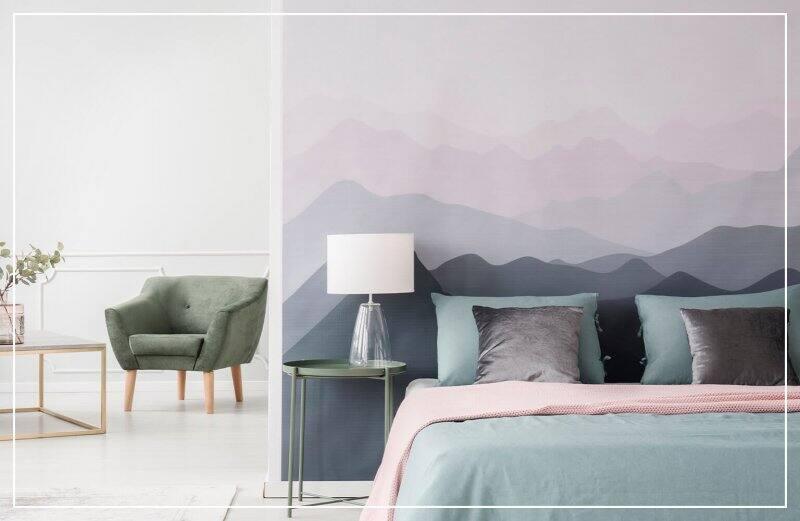 sunset wallpaper accent wall  (Photo by Photographee.eu/Shutterstock.com)