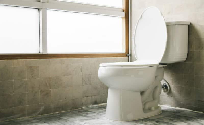 Photo of a toilet in a bathroom (Photo by Siraphol Siricharattakul / EyeEm/EyeEm via Getty Images)