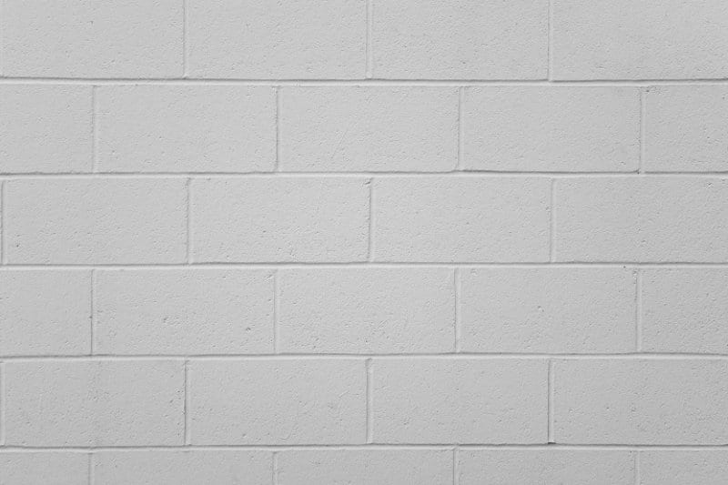 White Cinder Block Wall (Photo by © clintspencer / E+ / Getty Images.)