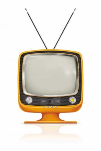 TV, old fashioned TV, television