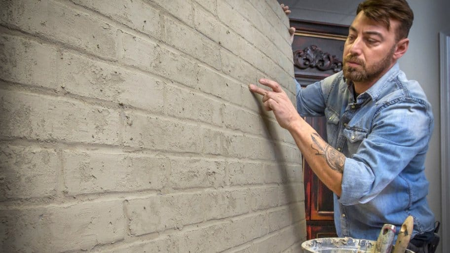 Silver Crow Studios' Sean Sheppard finished faux brick