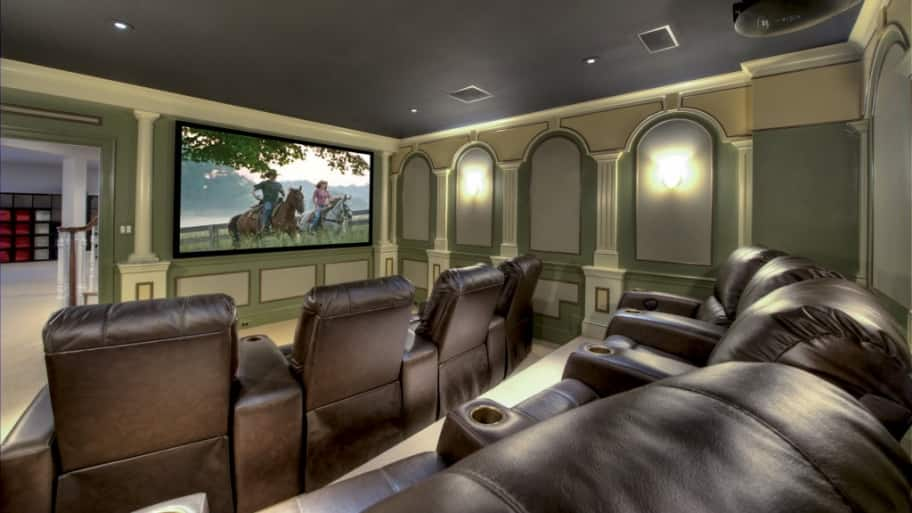 basement remodel home theater