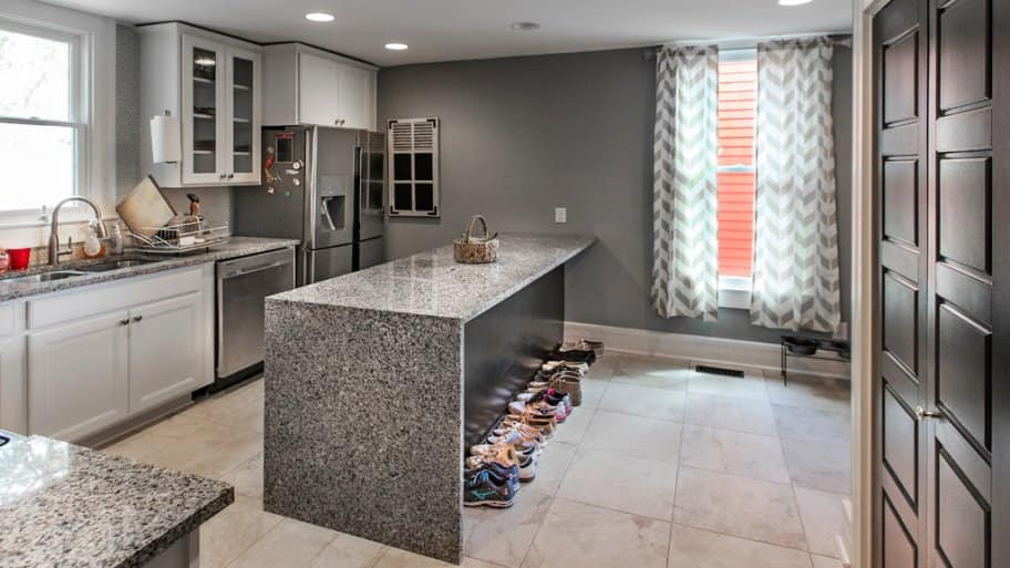 New kitchen in Herron-Morton home in Indianapolis