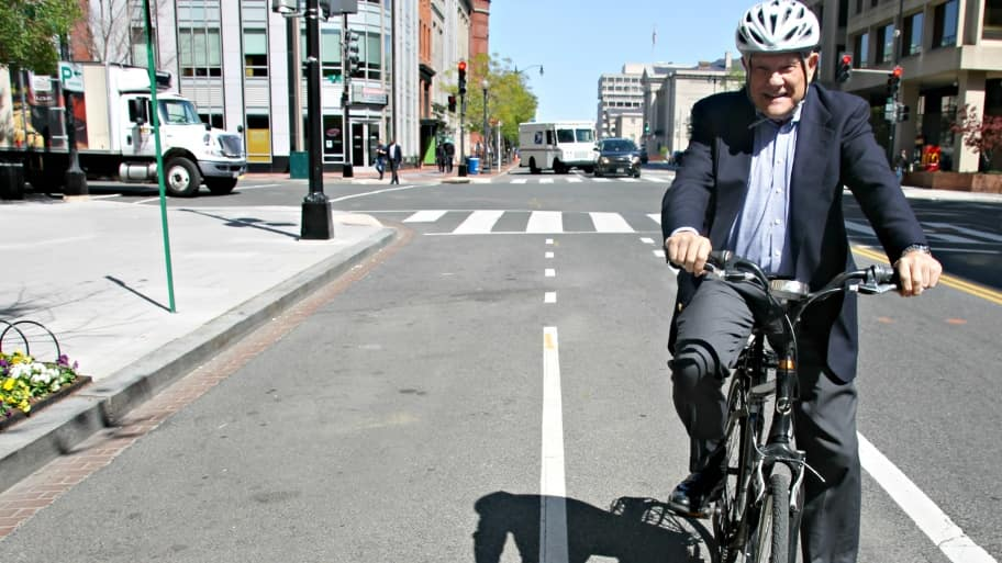 Bike ride in D.C.