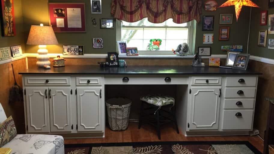 DIY cabinet installation