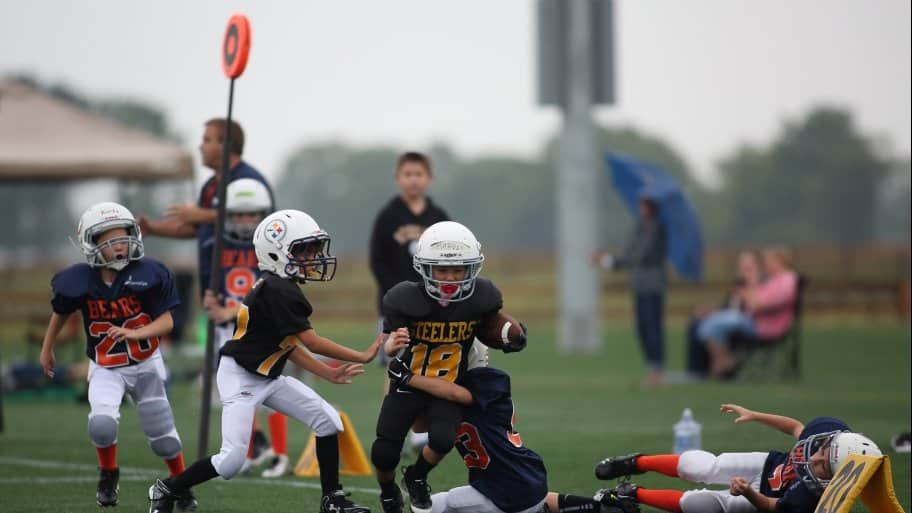 youth football injuries (Photo by Steve C. Mitchell)