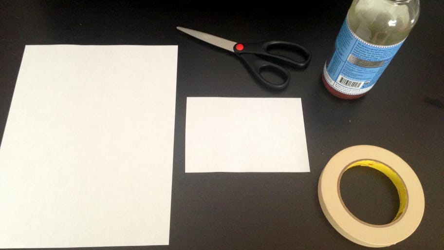 supplies needed to build a fruit fly trap