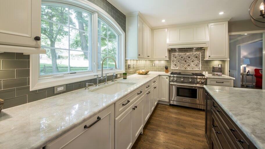 Green kitchen remodel