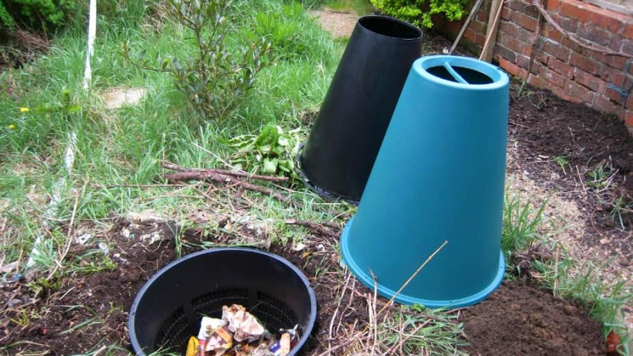 Green Cone composting system