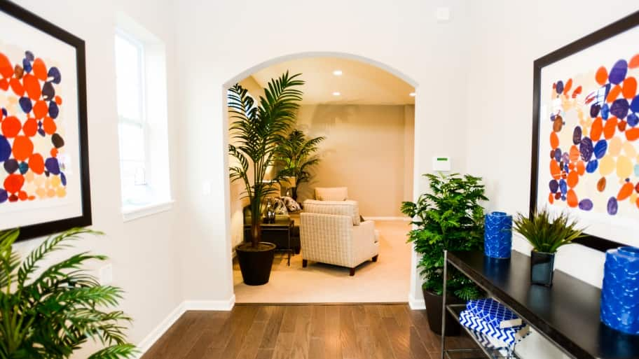 entryway DIY home projects