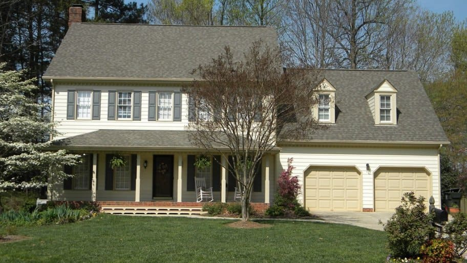 home exterior with landscaping