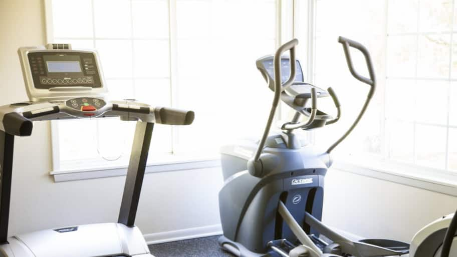Treadmill, and exercise equipment