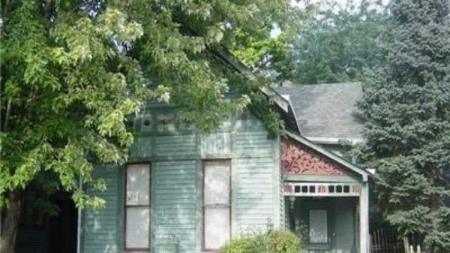 Old house in Herron-Morton Place in Indianapolis
